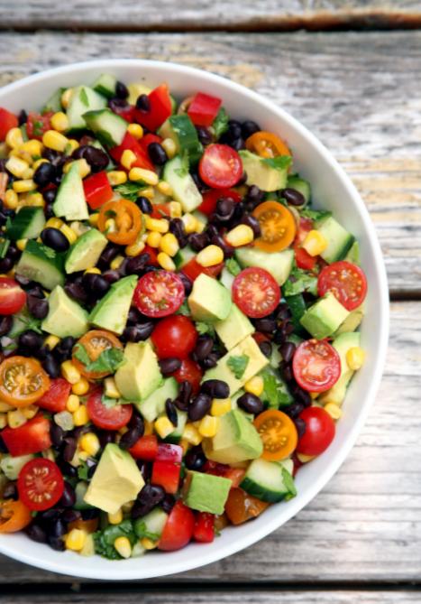 Quick Black Bean Salad Recipe