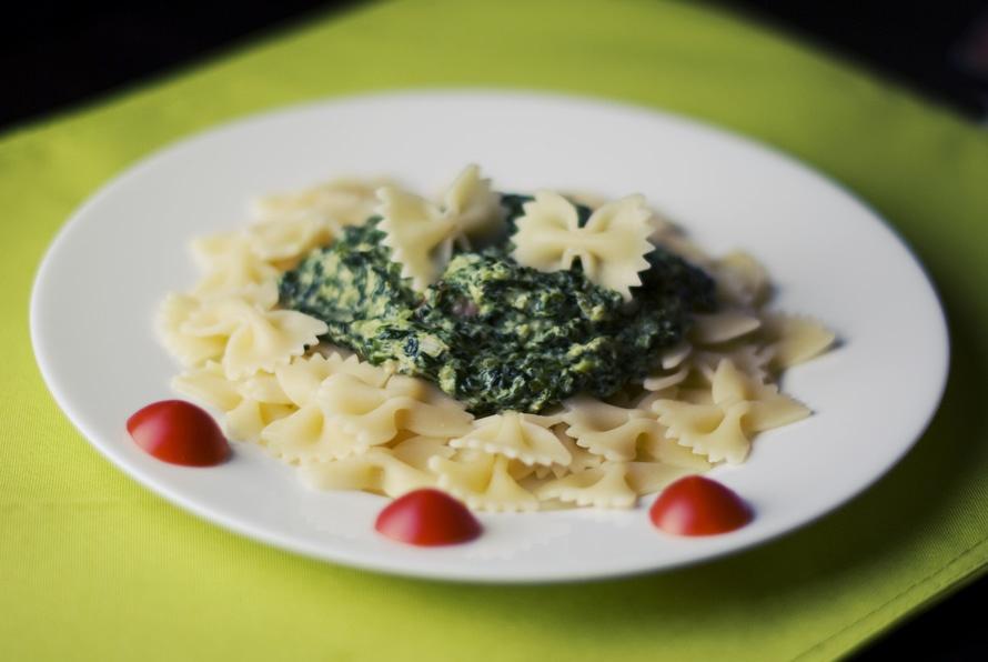 Brussels Sprouts Pesto Pasta Recipe