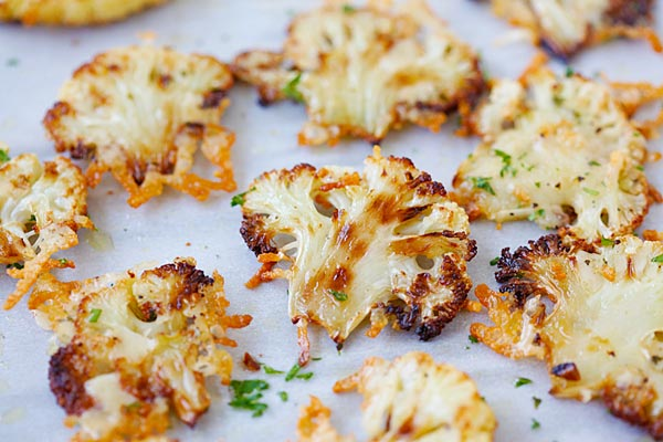 Popcorn Caper Cauliflower Recipe